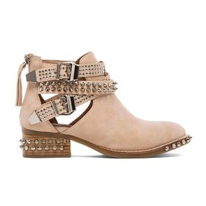 Jeffrey Campbell Everly Embellished Boot Beige 8